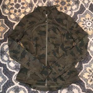 Lululemon Camo zip up jacket